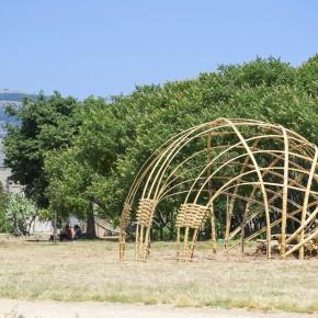 Costruire in bamboo | workshop teorico-pratico al Parco Uditore - Palermo