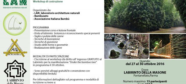 Architettura ed Arte al Labirinto di Bambù